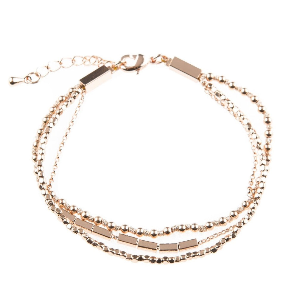 Juliet Rose Gold Bracelet - Blush & Co. Rose Gold Jewellery Australia