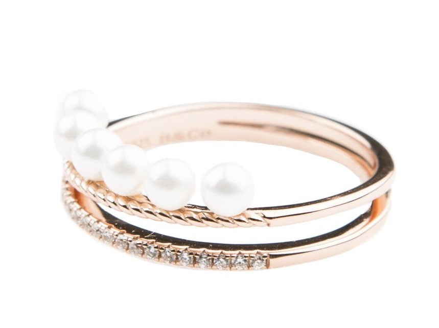 Elle Ring - Blush & Co. Rose Gold Jewellery Australia
