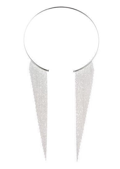 60% OFF Lucia Necklace - Silver - Blush & Co.