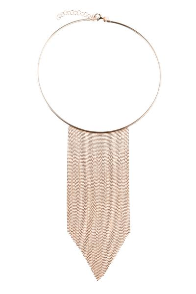 60% OFF Valentina Necklace - Rose Gold - Blush & Co.