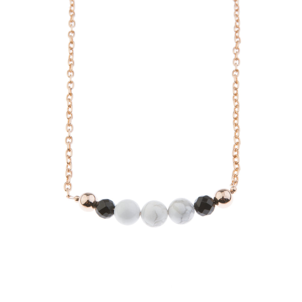 30% OFF Marble on Blush Necklace - Short - Blush & Co.