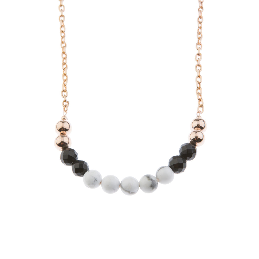 30% OFF Marble on Blush Necklace - Long - Blush & Co.
