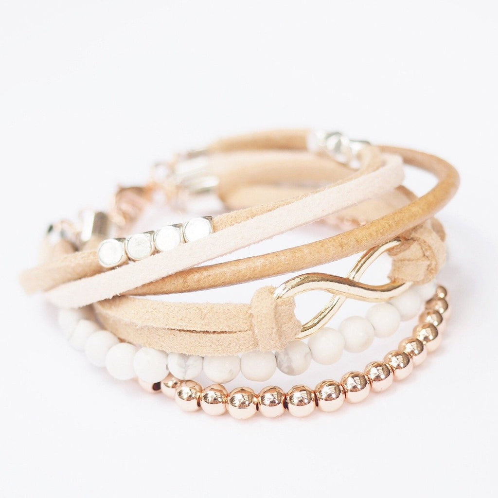 Fields of Blush Bracelet - Blush & Co.