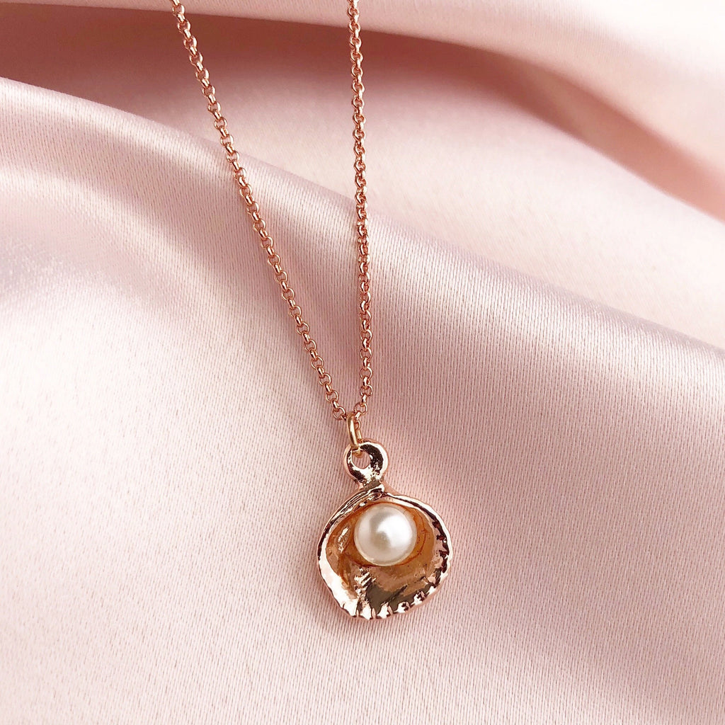 Eve Pendant Necklace - Blush & Co. Rose Gold Jewellery Australia