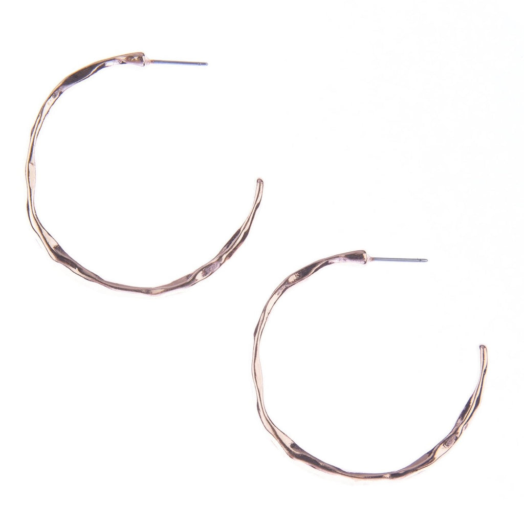 Lust Hoop Earrings - Blush & Co. Rose Gold Jewellery Australia