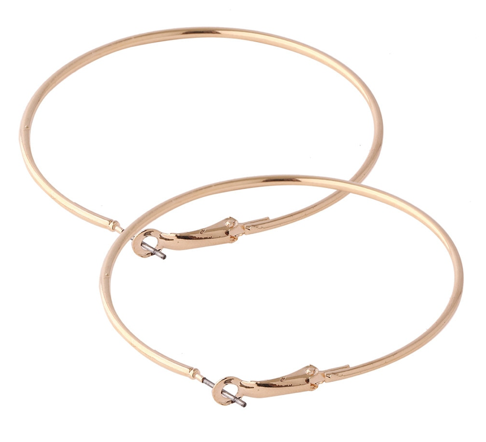 Large Gold Hoop Earrings - Blush & Co.