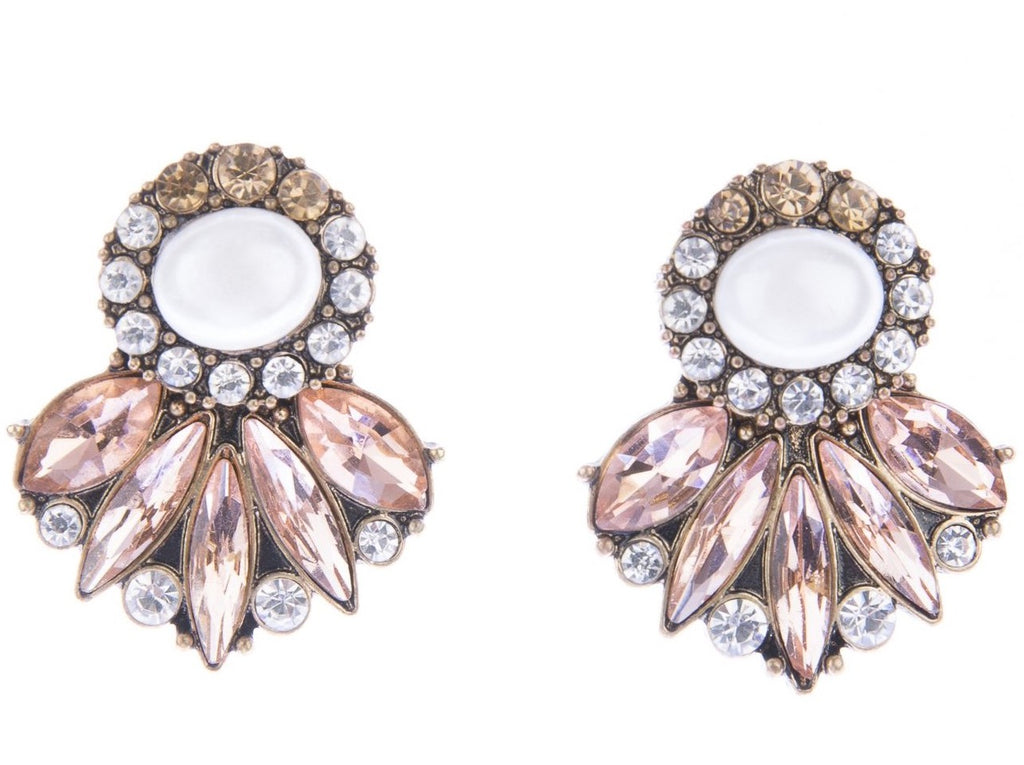 Sophia Statement Earrings - Blush & Co. Rose Gold Jewellery Australia