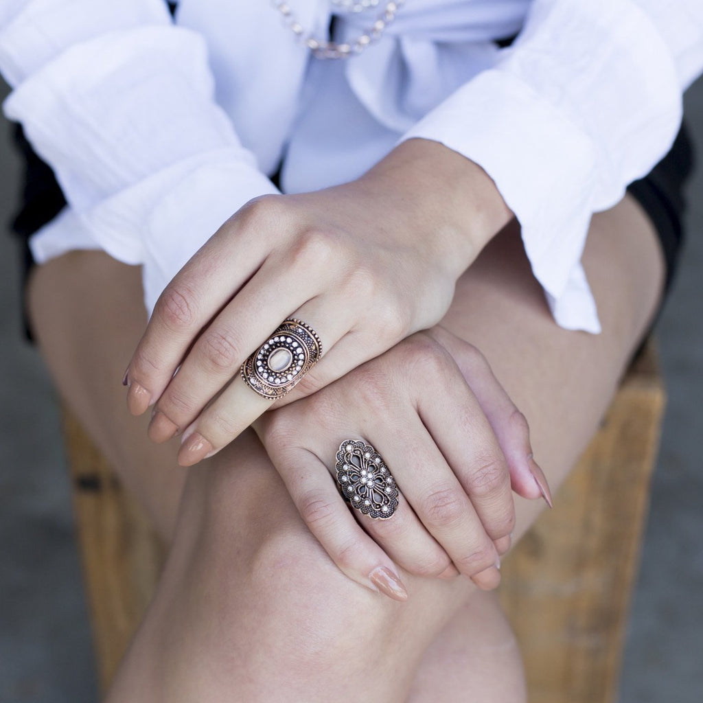 Arabella Statement Ring - Blush & Co.