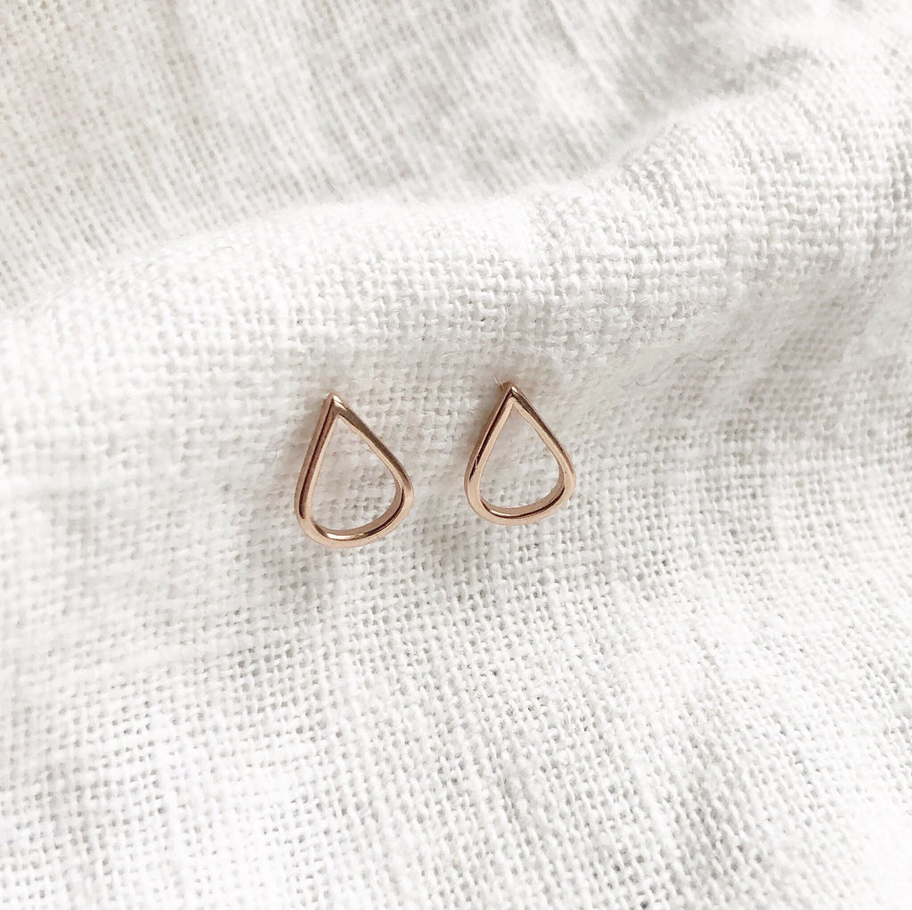 Simple Studs Gift Pack - Rose Gold - Blush & Co. Rose Gold Jewellery Australia