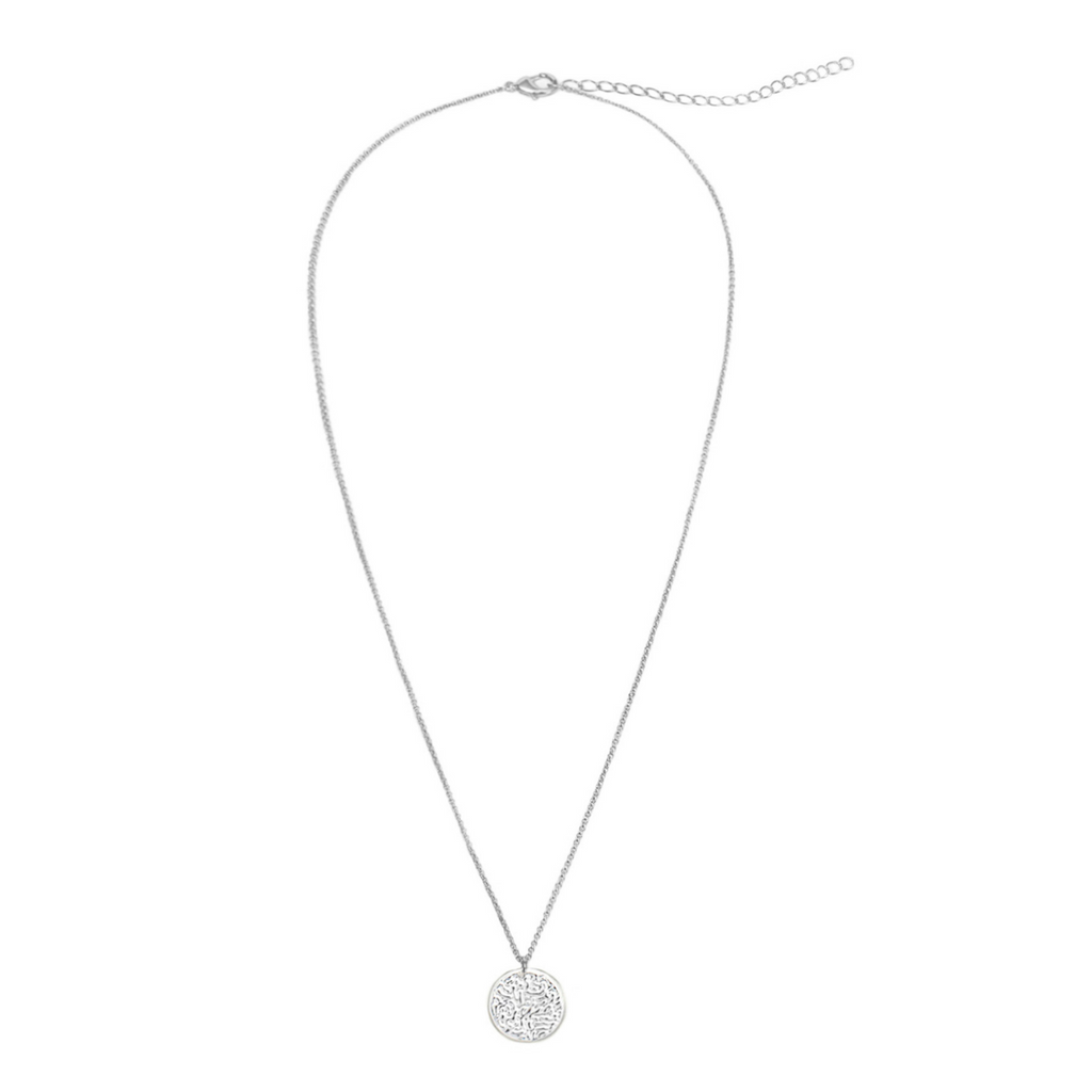 30% OFF New Moon Necklace - Silver - Blush & Co.