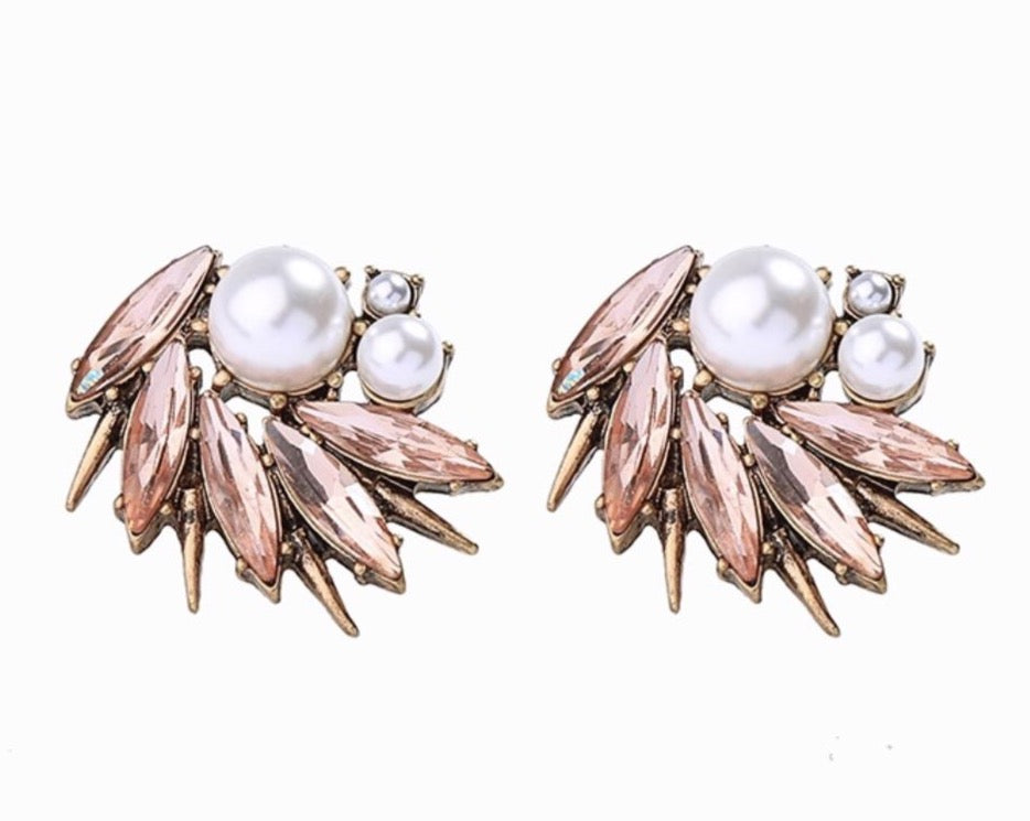 Zara Statement Earrings - Blush & Co. Rose Gold Jewellery Australia