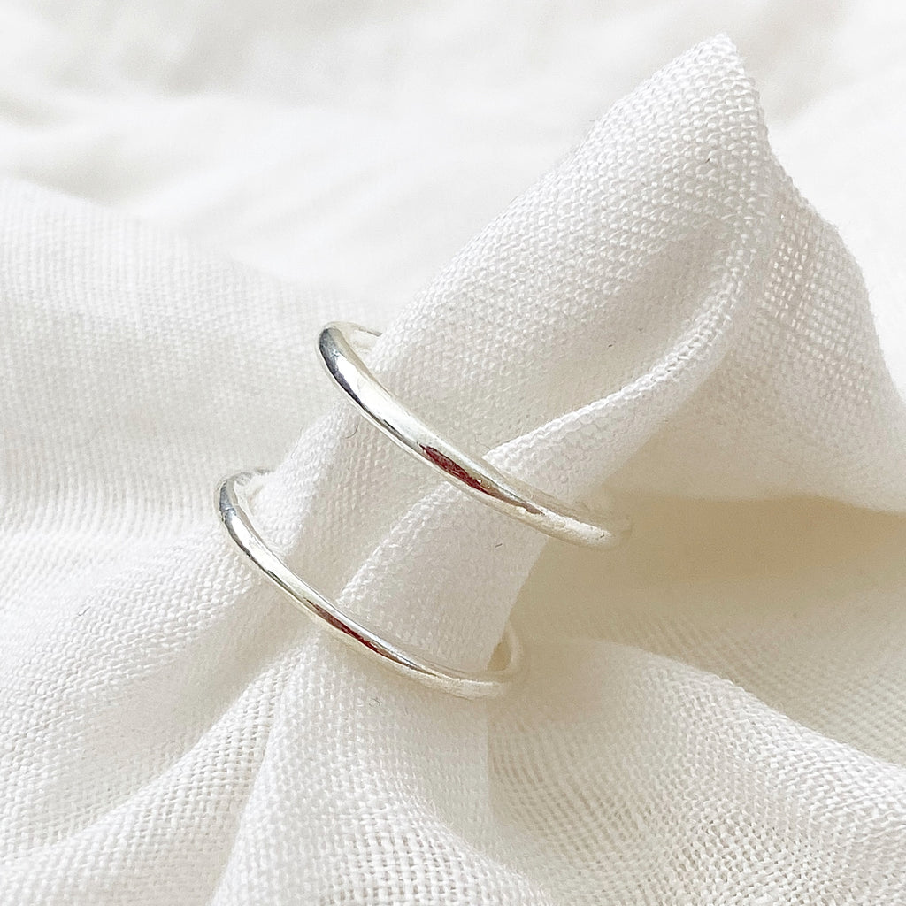 Open Band Ring - Silver - Blush & Co.