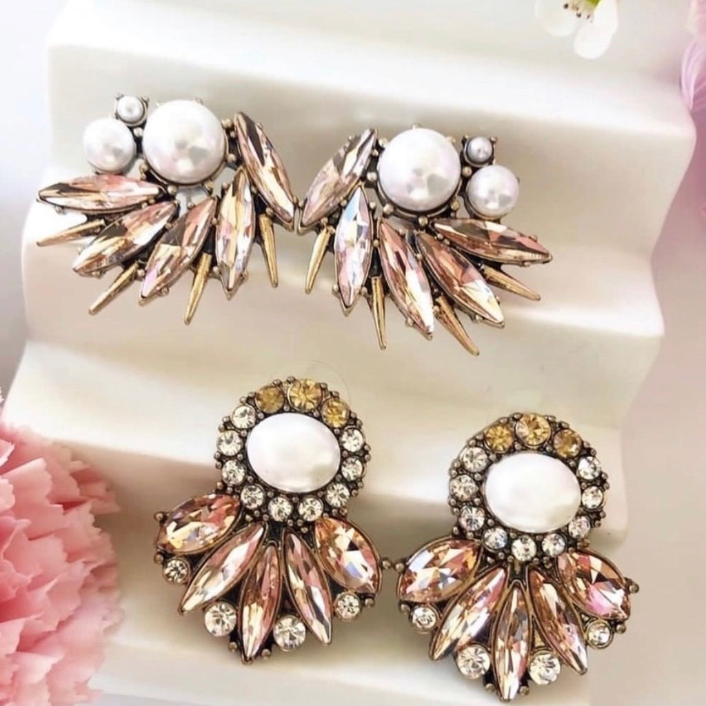 Zara Statement Earrings - Blush & Co.