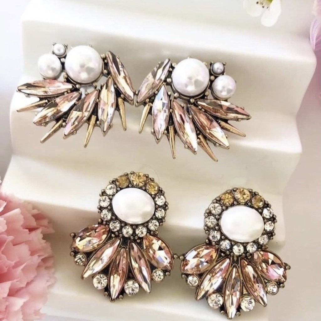 Sophia Statement Earrings - Blush & Co.