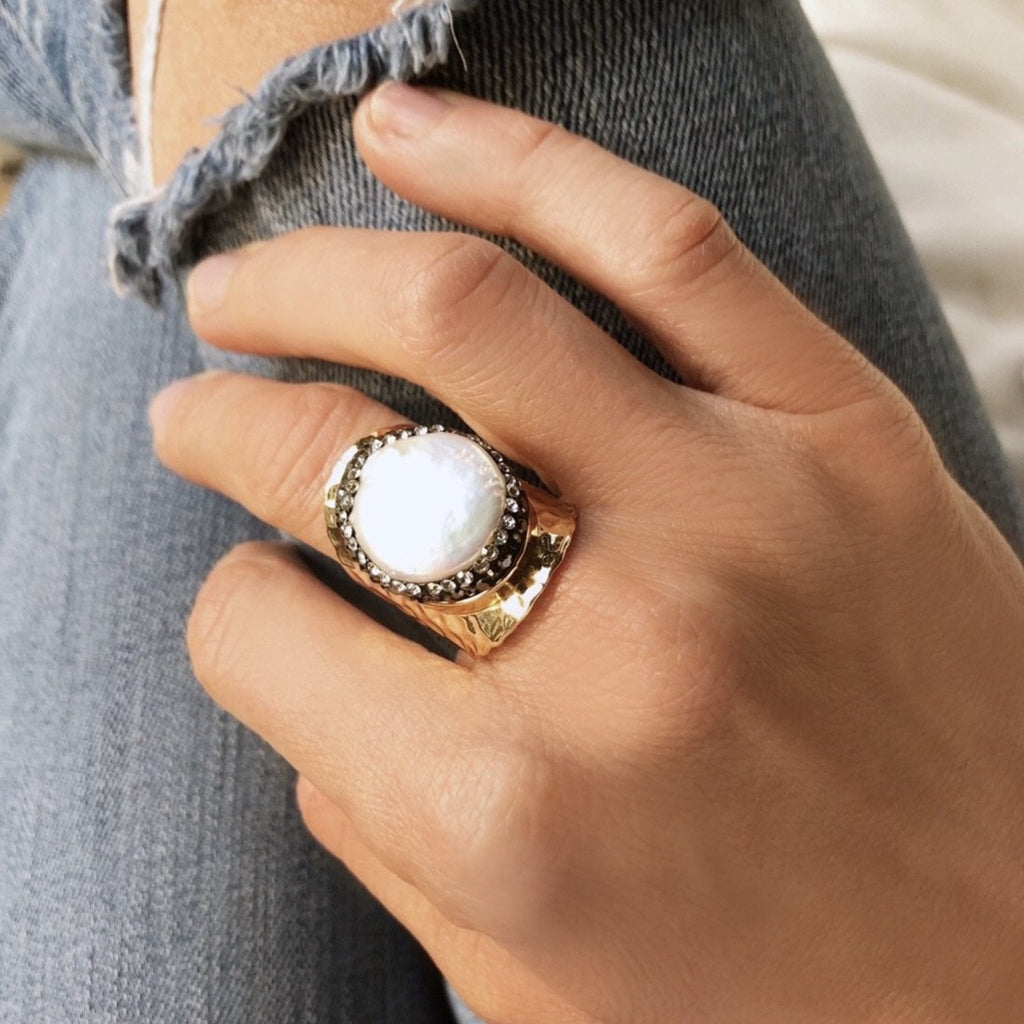 Kara Statement Ring - Blush & Co.