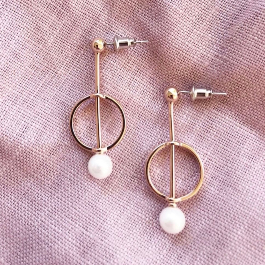 Alice Rose Gold Earrings - Blush & Co. Rose Gold Jewellery Australia