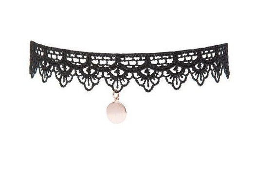 Blush Lace Choker - Blush & Co. Rose Gold Jewellery Australia