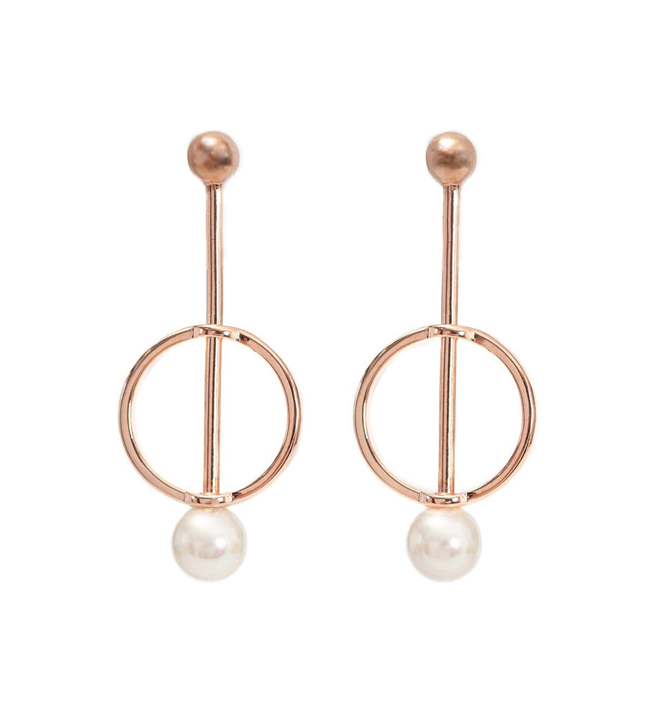 Alice Rose Gold Earrings