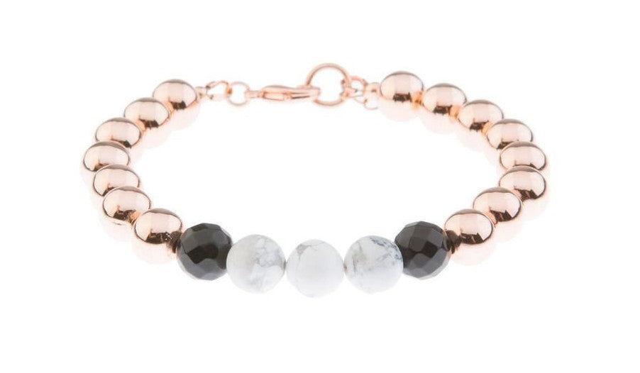 Marble on Blush Bracelet - Blush & Co. Rose Gold Jewellery Australia