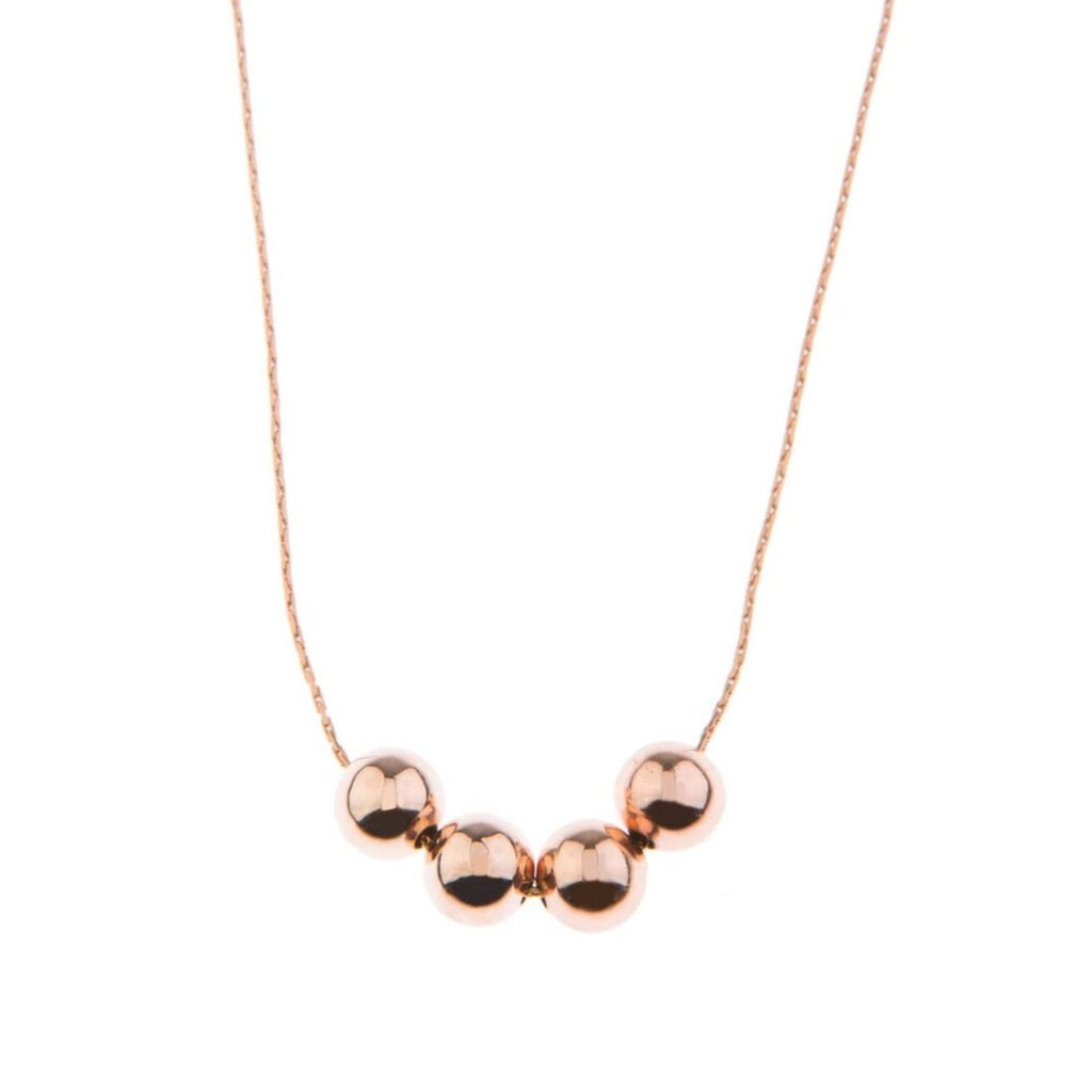 Blush of Simplicity Rose Gold Necklace - 70cm - Blush & Co. Rose Gold Jewellery Australia