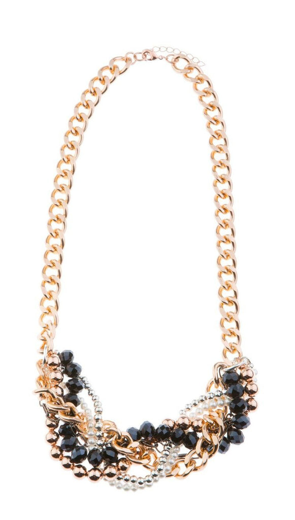 A Touch of Blush Statement Necklace - Blush & Co.