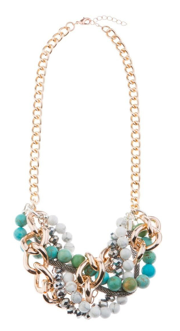 Heavenly Blush Statement Necklace