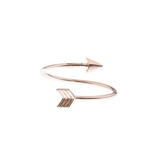 Arrow Wrap Ring - Rose Gold - Blush & Co. Rose Gold Jewellery Australia
