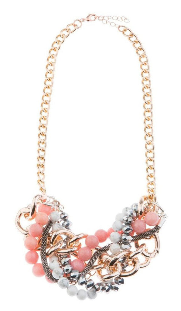 Blush In Bloom Statement Necklace - Blush & Co.