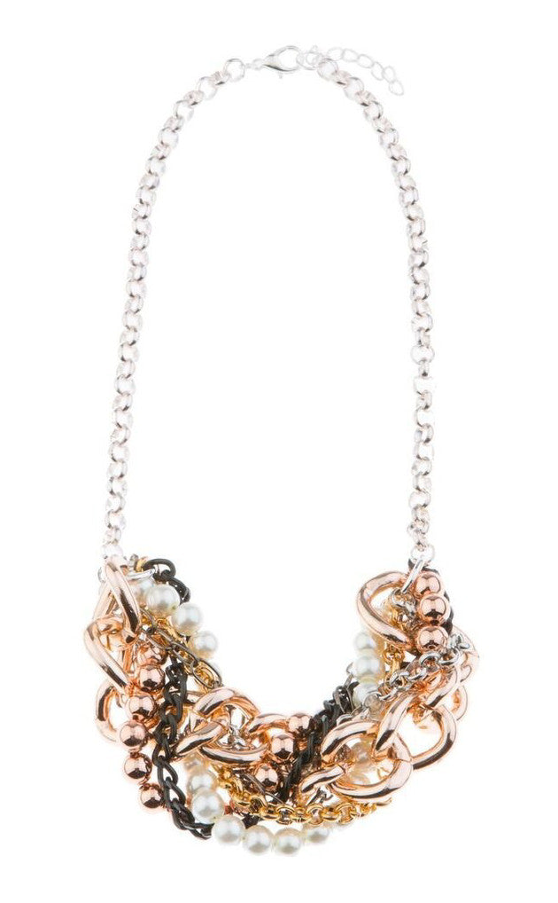 At First Blush Statement Necklace - Blush & Co. Rose Gold Jewellery Australia