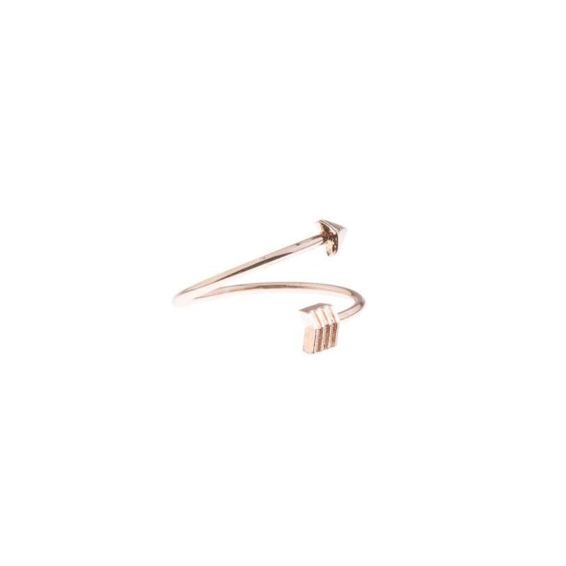 Arrow Wrap Ring - Blush & Co.