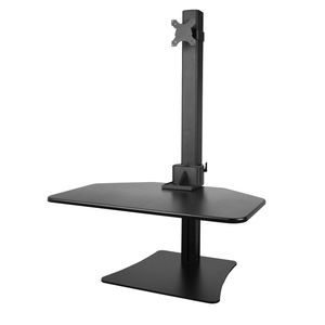 Height Adjustable Standing Desk for Single Monitor (vertical moving Pneumatic spring )