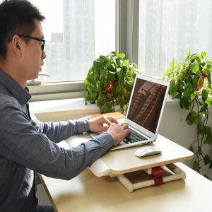 stand up desk laptop table notebook stand