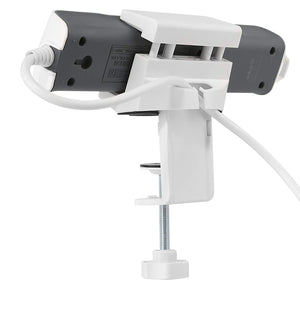 Clamp On Power Strip Holder I Organise your desk and put your power strip where you need it