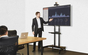 BIG Tv Trolley for Polycom Realpresence