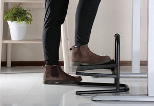 Heavy Duty High height Foot Rest , 15.3 cm to 27.8 cm height range Footstool