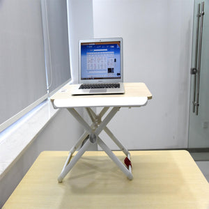 Laptop Standing Desk Converter, Height-Adjustable Stand Up Desk,  Laptop Table, Notebook Stand, Sit to Stand table