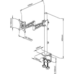 Single Monitor Arm LMS-D