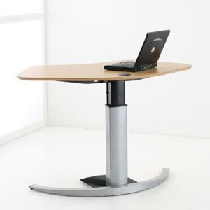 scandinavian design danish single leg electric desk (conset make 501-19 )