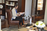 Laptop Sit Stand Arm & Desk