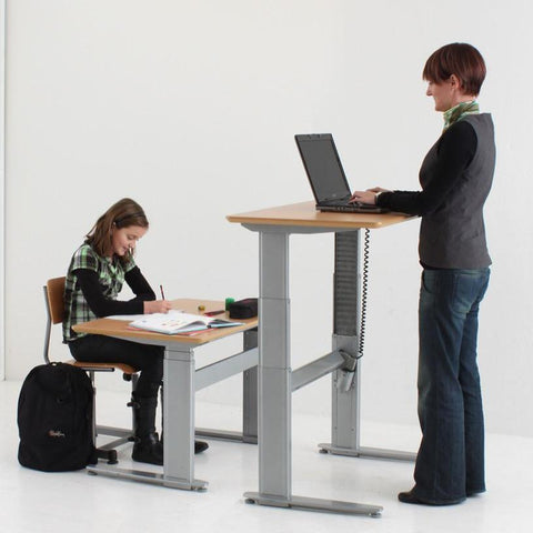 Premium Sit Stand Electric Table (Conset Denmark Make) Model 501-27