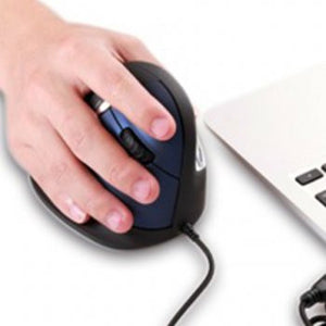 ergonomic vertical mouse  (wired or wireless )