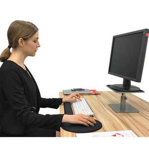Adjustable Computer Monitor Riser with Stepless Height Riser (Model : LSp2)
