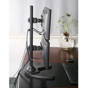 Dual Monitor Stand (Vertical ) Freestanding