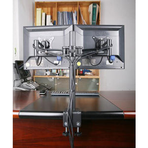 Dual Monitor Stand Table Clamp 2MS-CTB