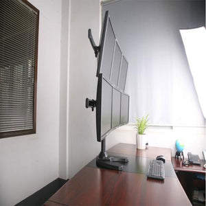 Six Monitor Stand 6MS-FHW