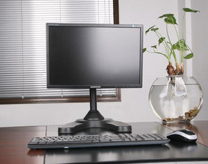 Freestanding Monitor Stand, Black LMSFB