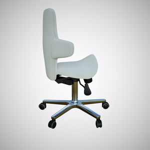Saddle Sit Stand Office Chair Model With tilting Back Rest, 260mm Gas Lift