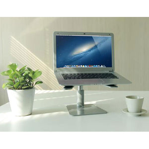 Adjustable laptop notebook  Riser with Stepless Height Riser (Model : LSp)