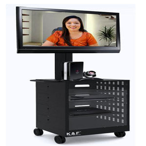 TMC01 Tv Cart with Lockable Cabinet