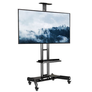 Economical Floor TV Trolley (for Home & Commercial Use) H04